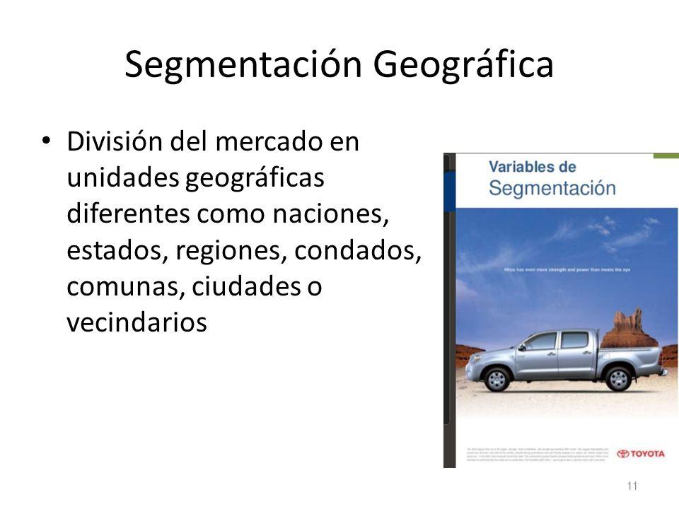 Segmentación Geográfica