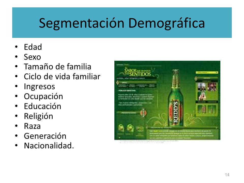 Segmentación Demográfica