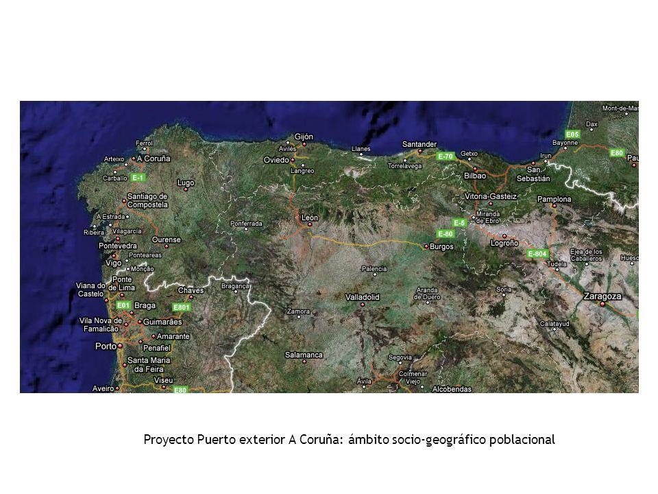 Proyecto Puerto exterior A Coruña: ámbito socio-geográfico poblacional