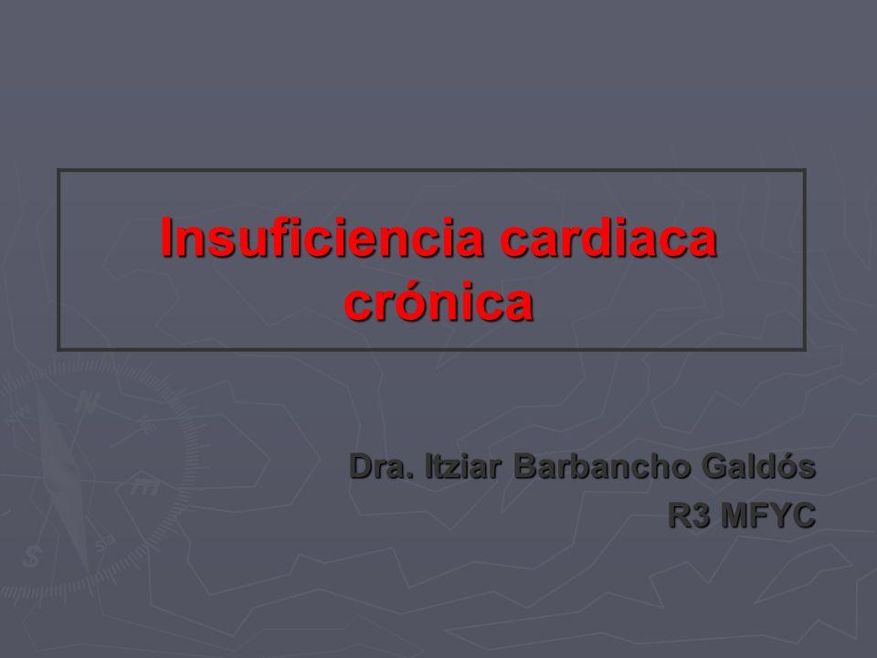 Insuficiencia cardiaca crónica