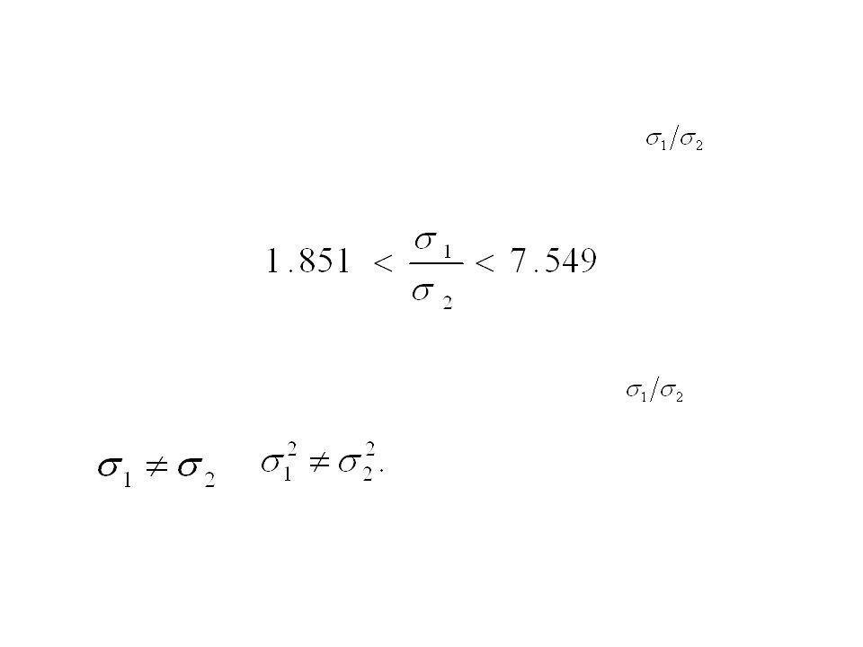 Dado que este intervalo deja fuera la posibilidad de que sea igual