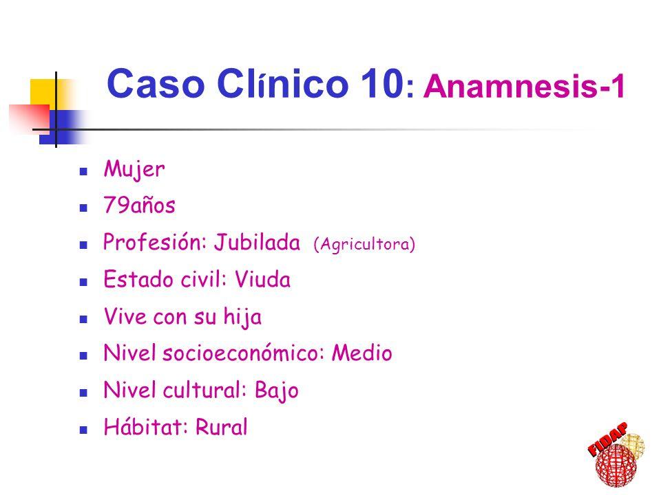 Caso Clínico 10: Anamnesis-1