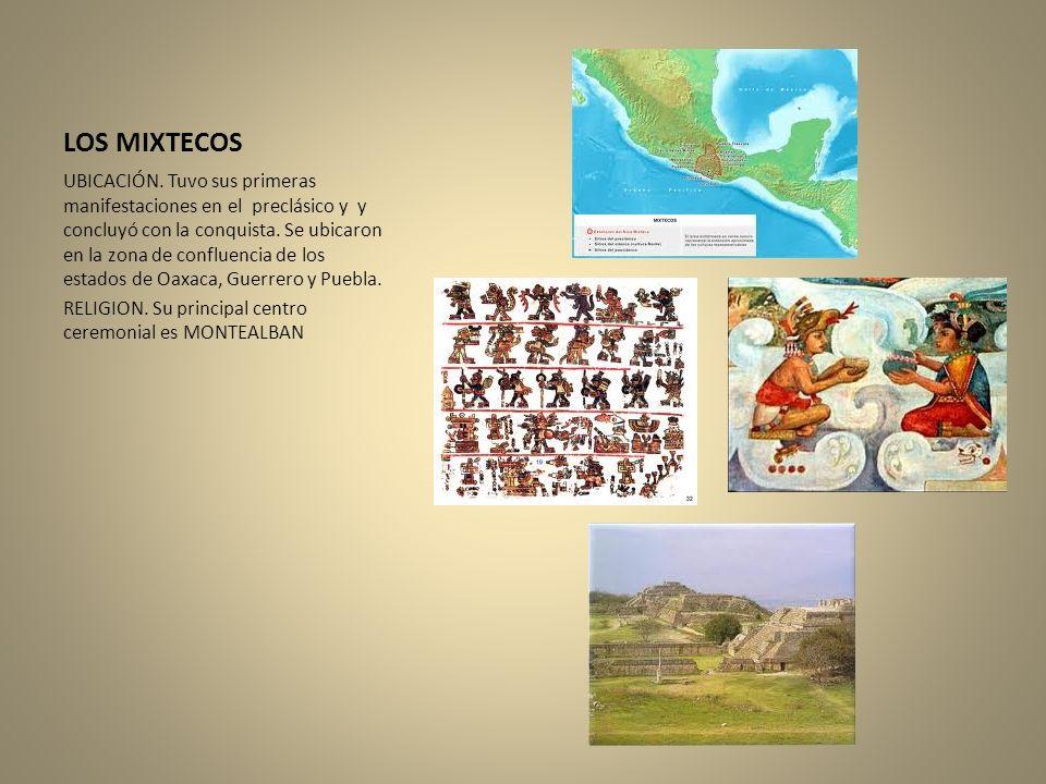 LOS MIXTECOS