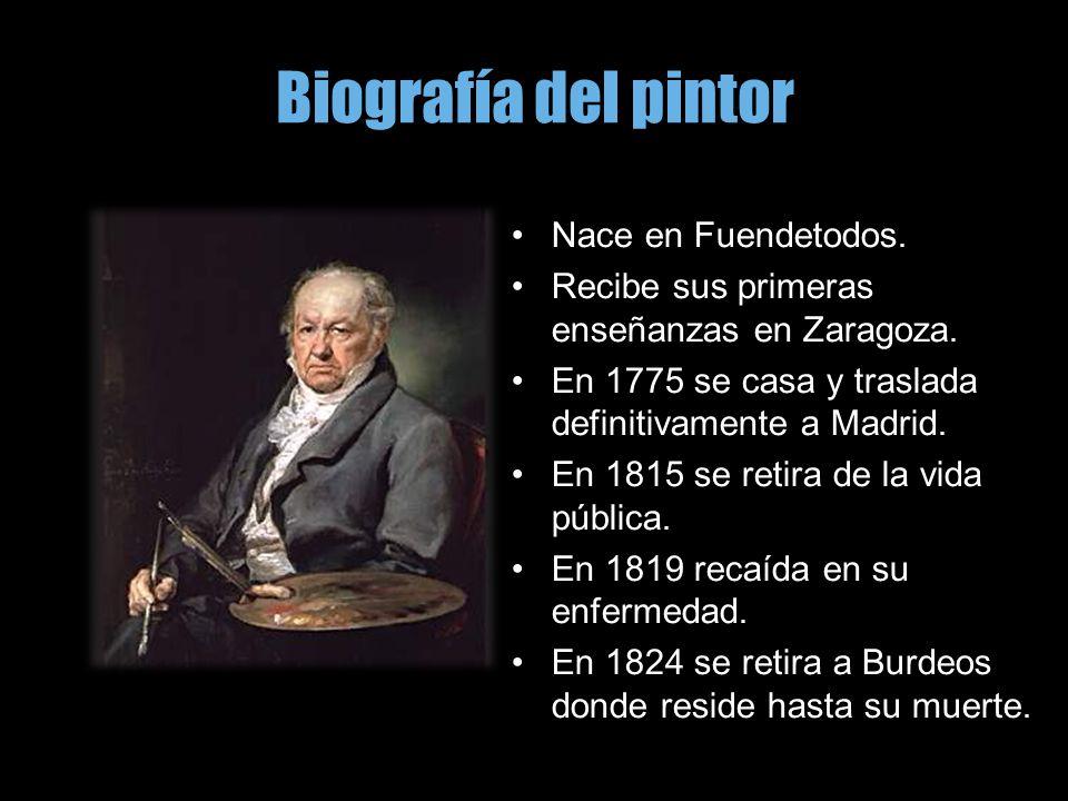 Biografía del pintor Nace en Fuendetodos.