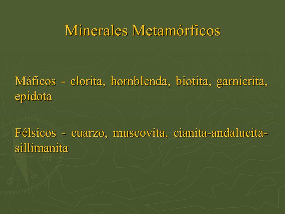 Minerales Metamórficos