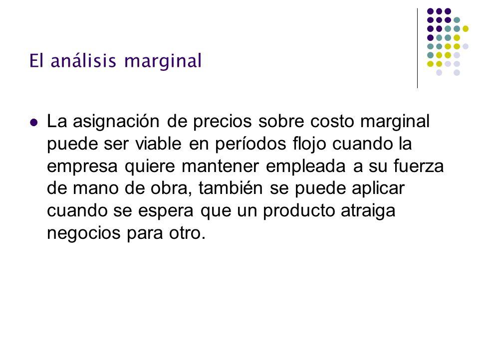 El análisis marginal