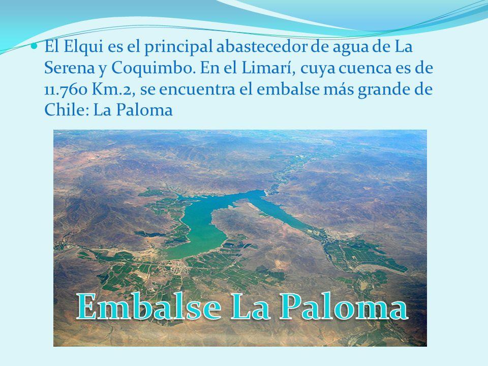 El Elqui es el principal abastecedor de agua de La Serena y Coquimbo