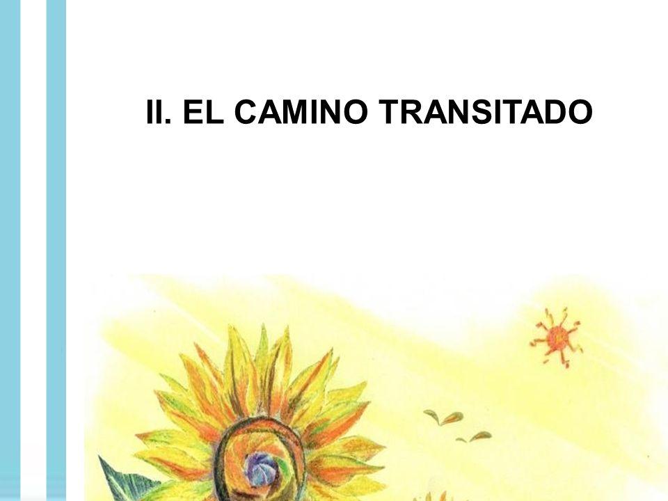 II. EL CAMINO TRANSITADO