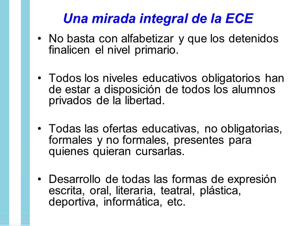 Una mirada integral de la ECE