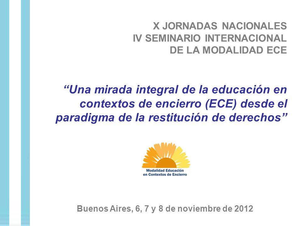 Buenos Aires, 6, 7 y 8 de noviembre de 2012
