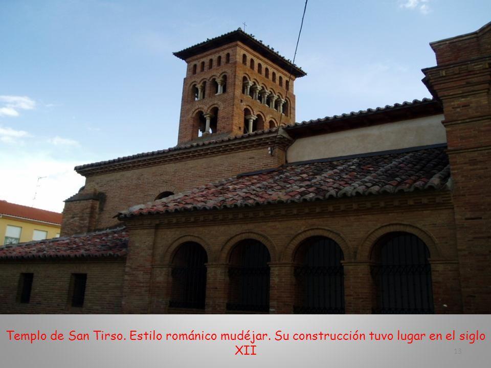 Templo de San Tirso. Estilo románico mudéjar