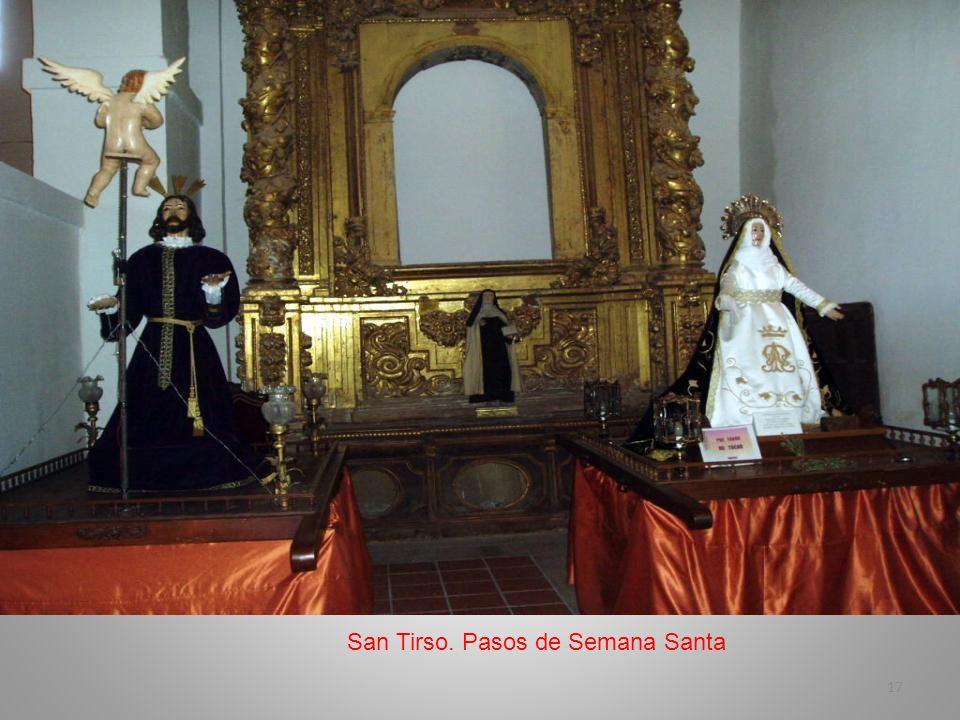 San Tirso. Pasos de Semana Santa
