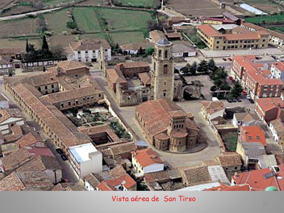 Vista aérea de San Tirso