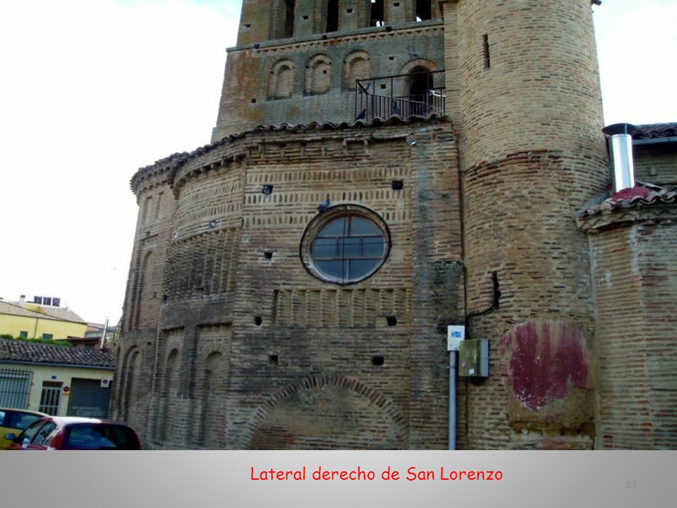 Lateral derecho de San Lorenzo