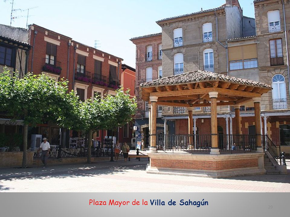 Plaza Mayor de la Villa de Sahagún