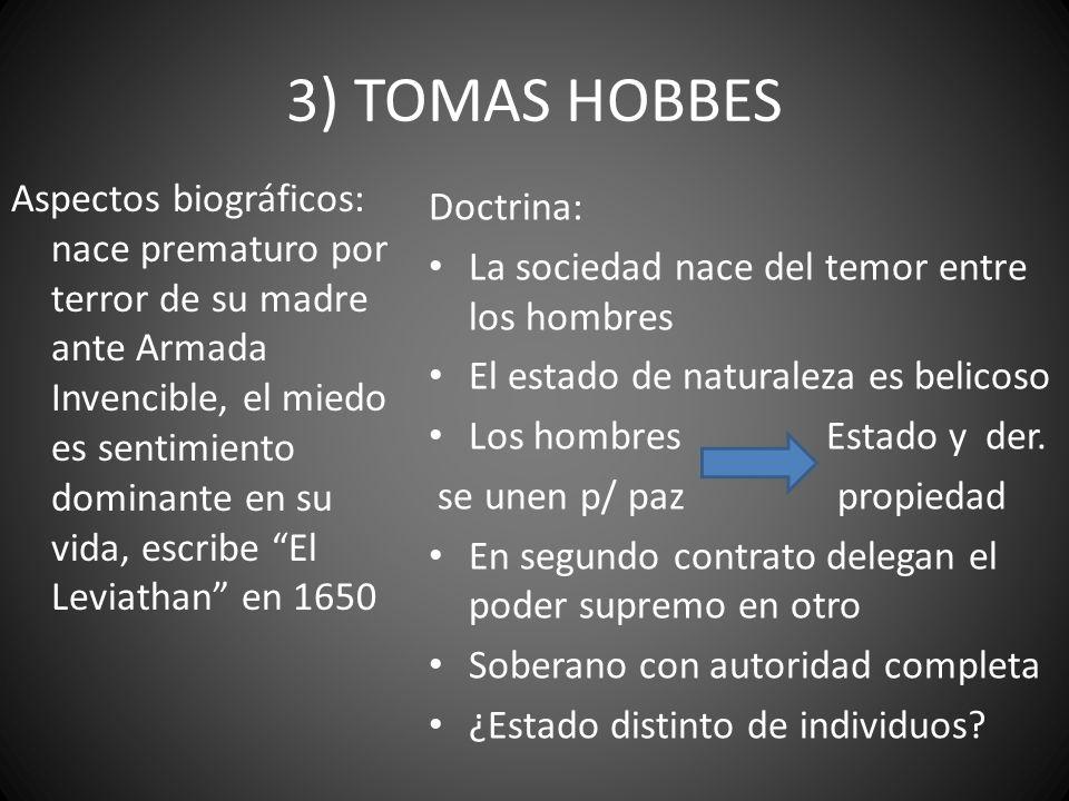 3) TOMAS HOBBES