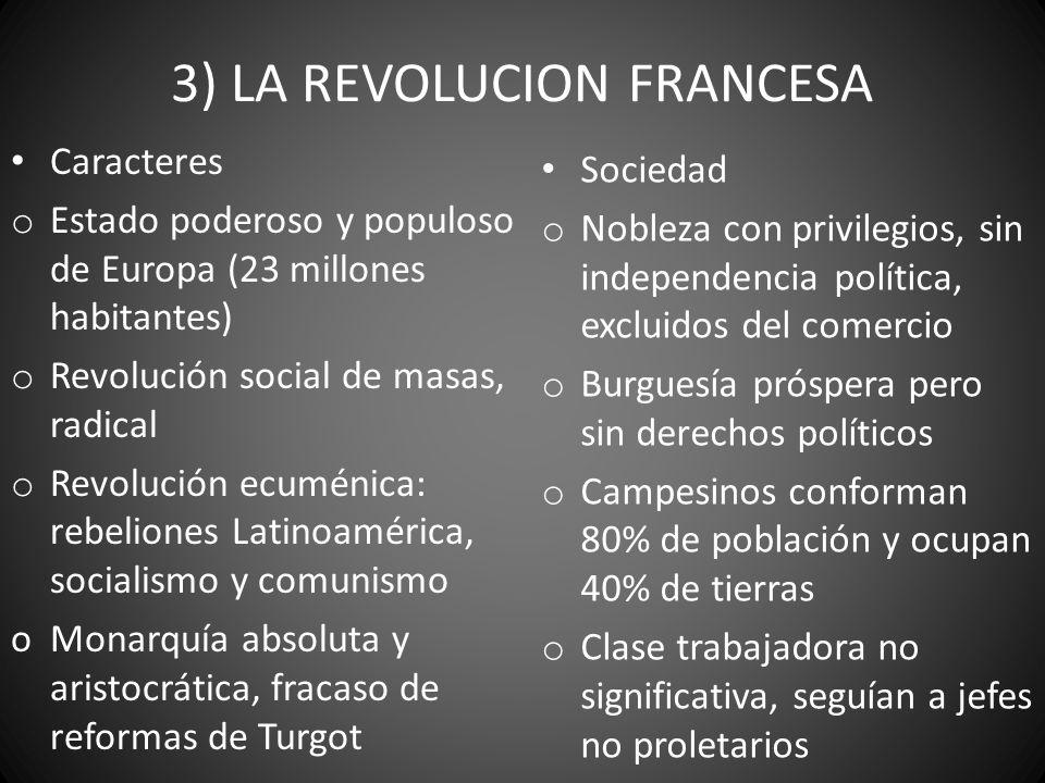 3) LA REVOLUCION FRANCESA
