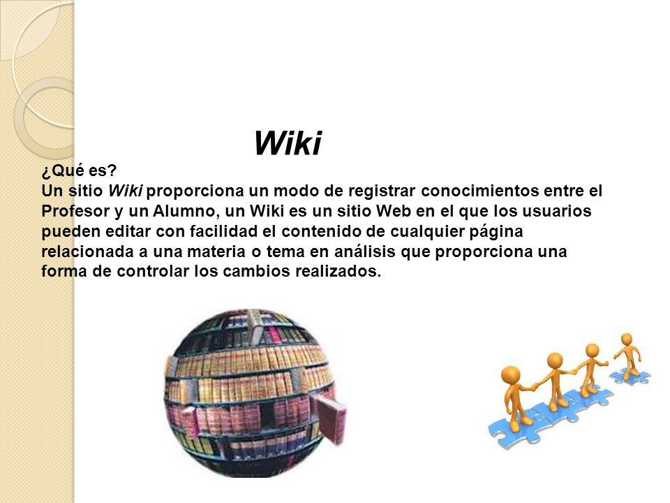 Wiki ¿Qué es