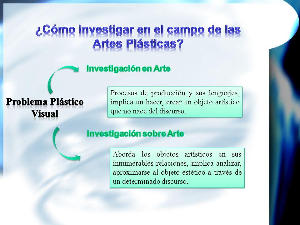 ¿Cómo investigar en el campo de las Artes Plásticas