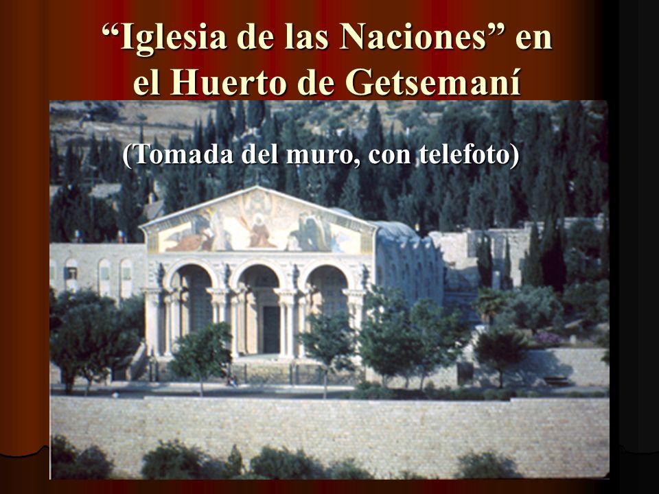 Iglesia de las Naciones en el Huerto de Getsemaní