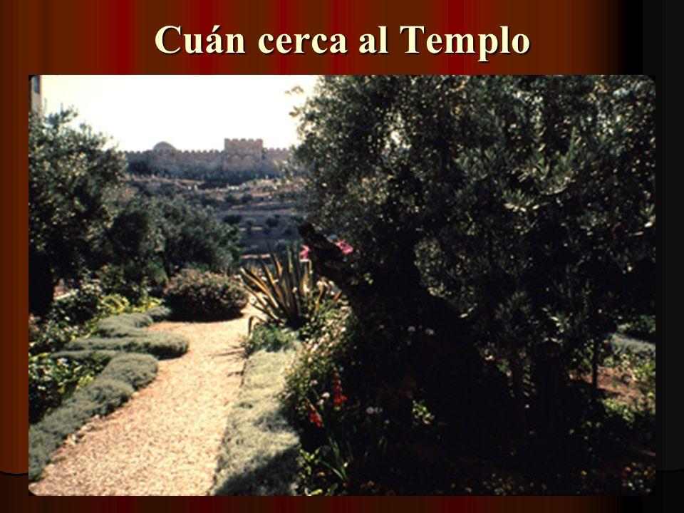 Cuán cerca al Templo