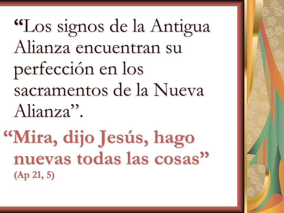 Mira, dijo Jesús, hago nuevas todas las cosas (Ap 21, 5)