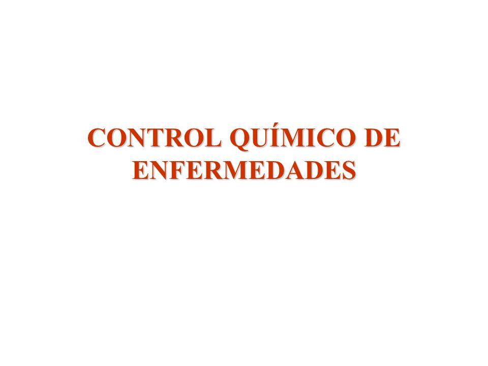 CONTROL QUÍMICO DE ENFERMEDADES