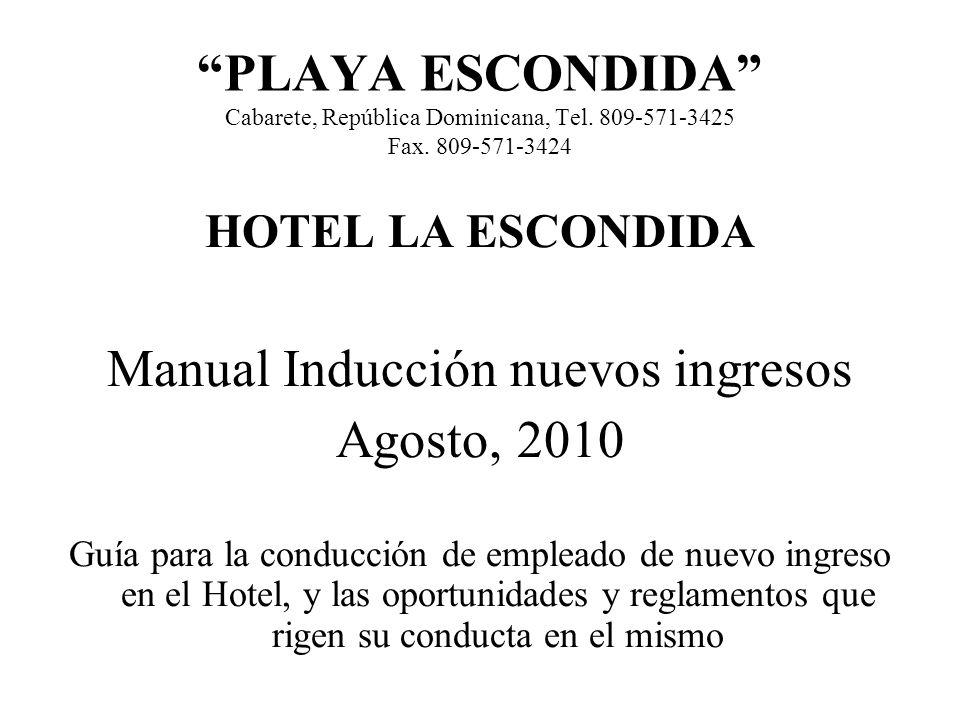 Manual Inducción nuevos ingresos