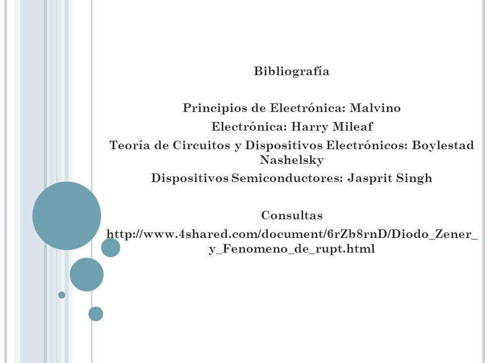 Principios de Electrónica: Malvino Electrónica: Harry Mileaf