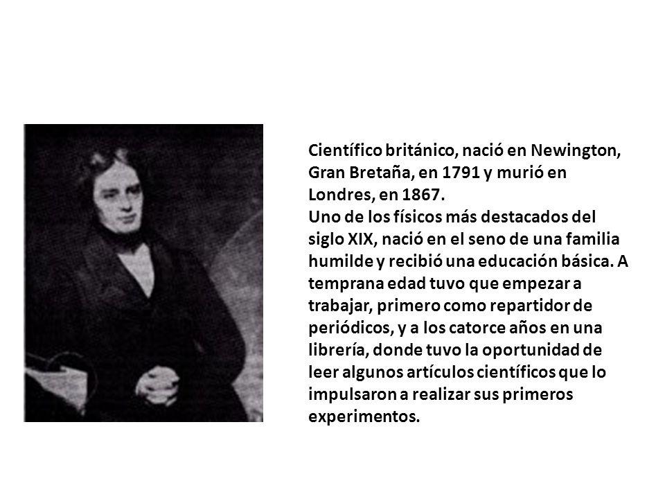 Científico británico, nació en Newington, Gran Bretaña, en 1791 y murió en Londres, en 1867.