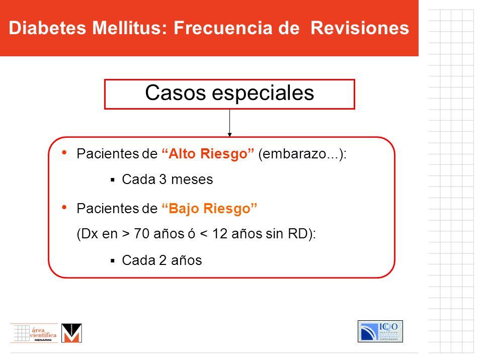 Diabetes Mellitus: Frecuencia de Revisiones