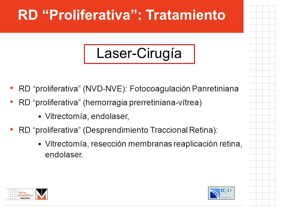 RD Proliferativa : Tratamiento