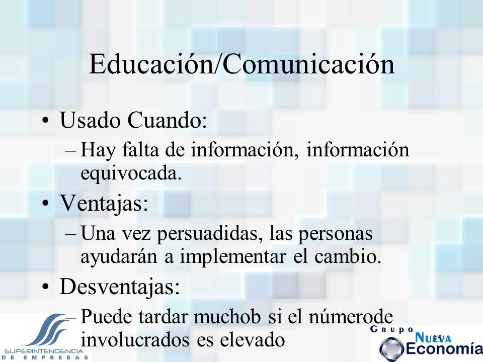 Educación/Comunicación