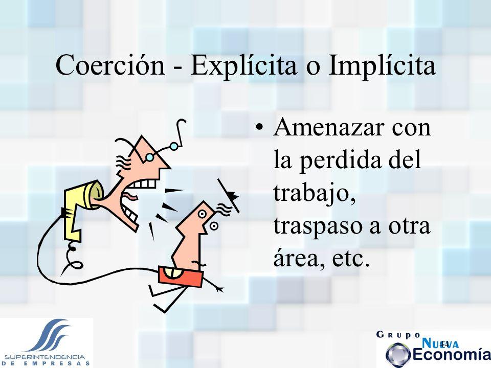 Coerción - Explícita o Implícita