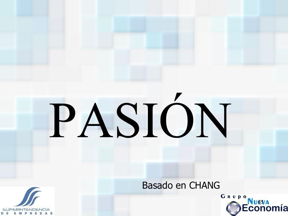 PASIÓN Basado en CHANG
