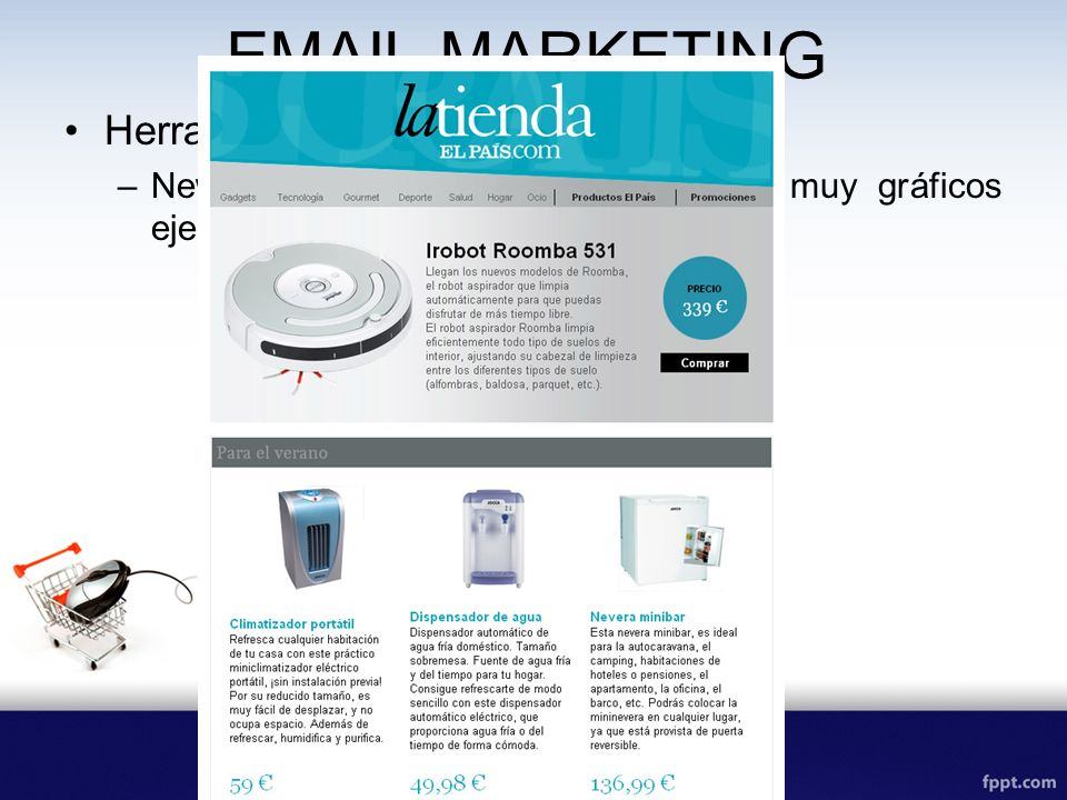 EMAIL MARKETING Herramientas de email marketing: