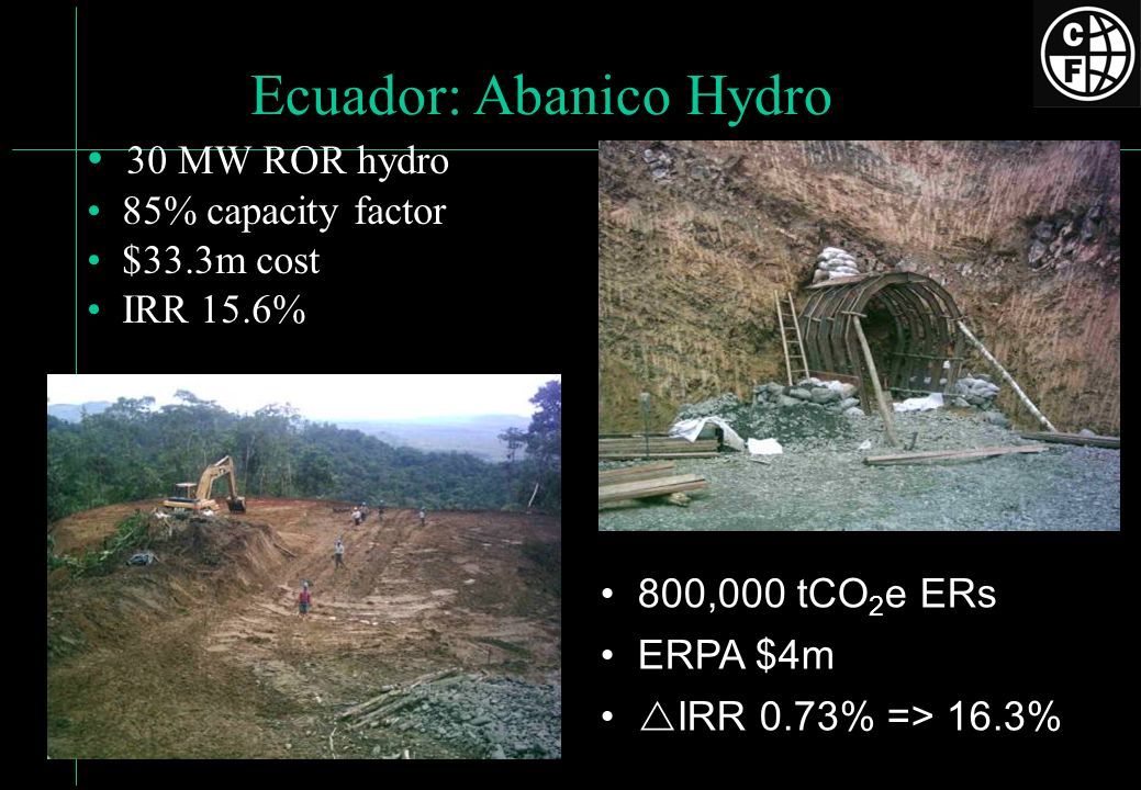 Ecuador: Abanico Hydro