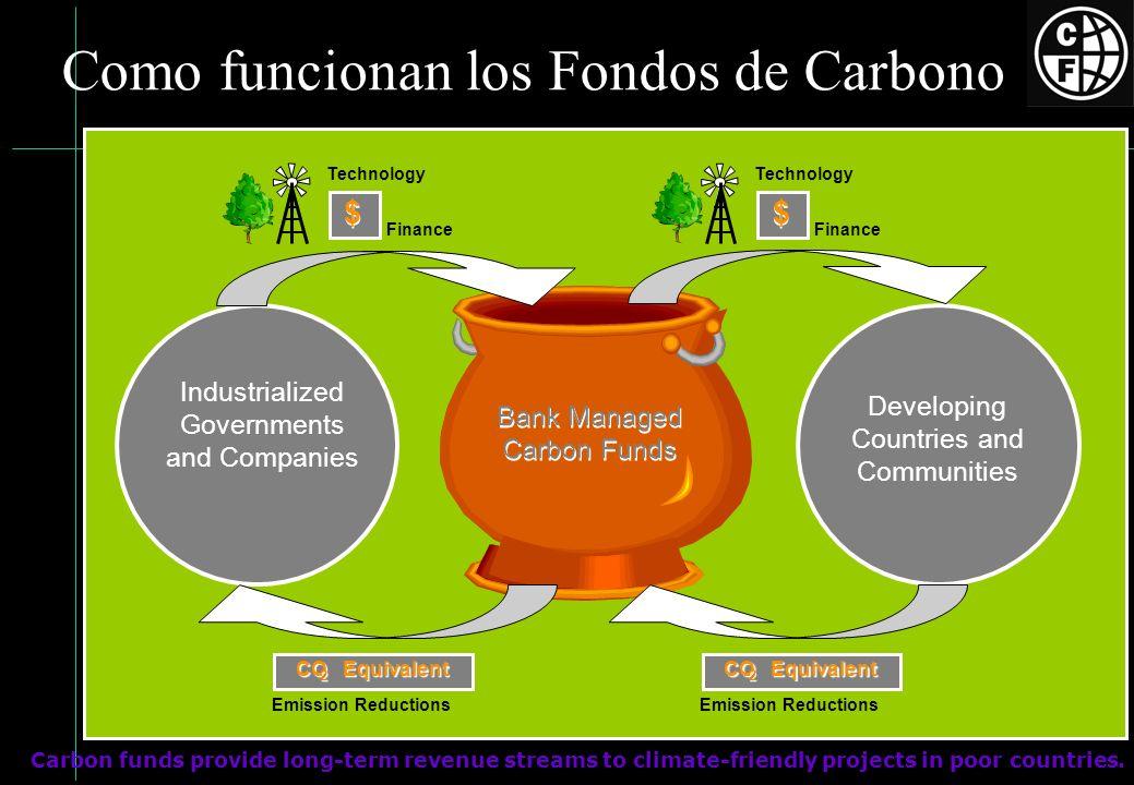 Como funcionan los Fondos de Carbono