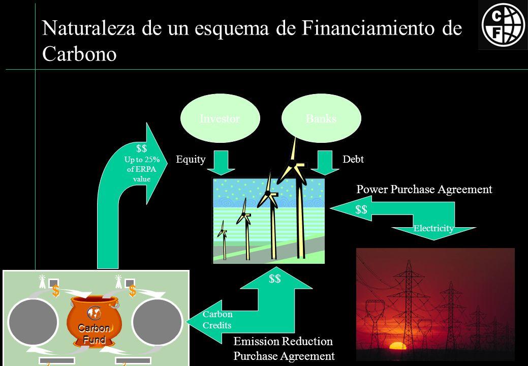 Naturaleza de un esquema de Financiamiento de Carbono