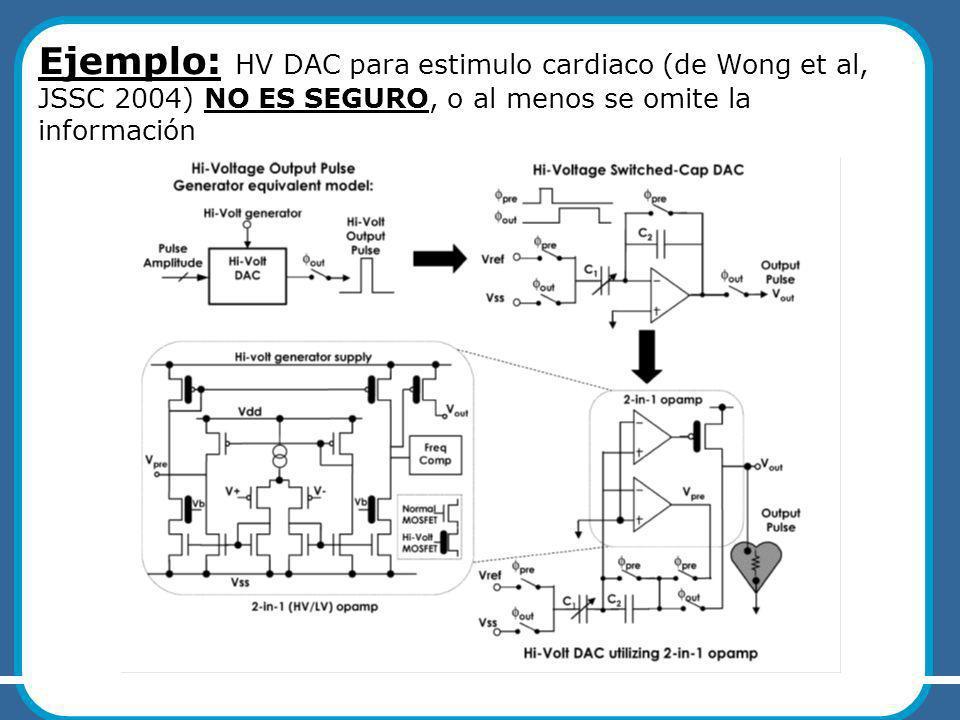 UCCOR'10 – M.Miguez, A.Arnaud ASICs para Aplicaciones Implantables
