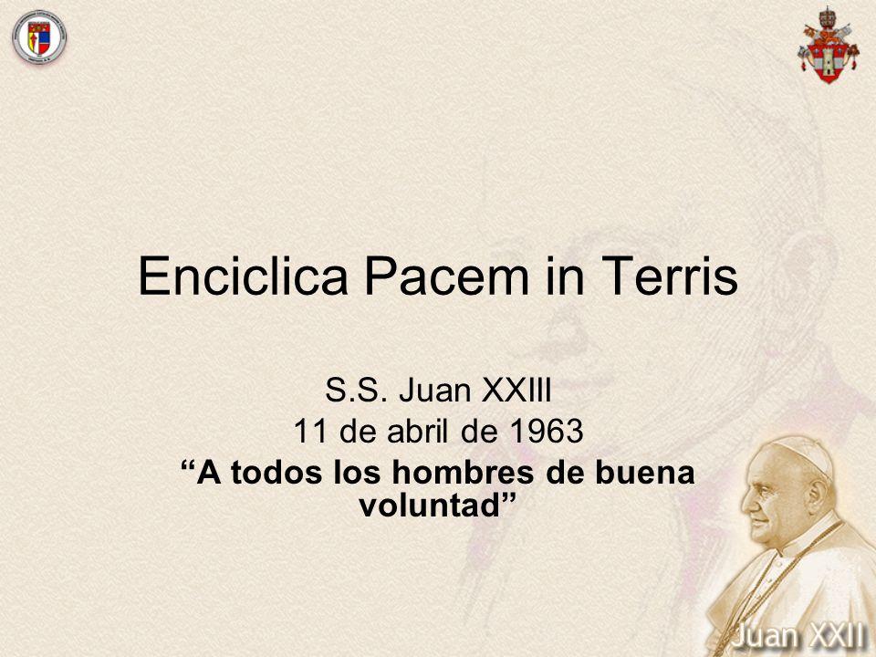 Enciclica Pacem in Terris