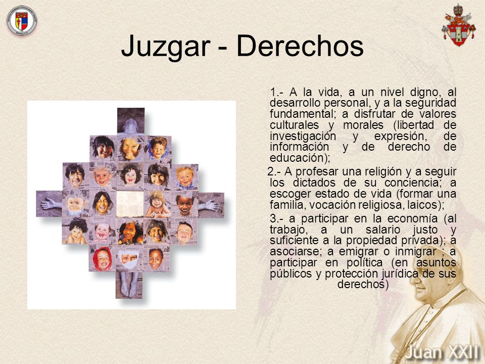 Juzgar - Derechos