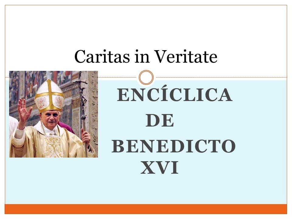 Encíclica de Benedicto XVI