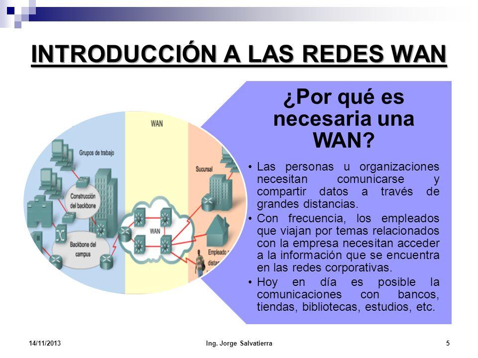 INTRODUCCIÓN A LAS REDES WAN