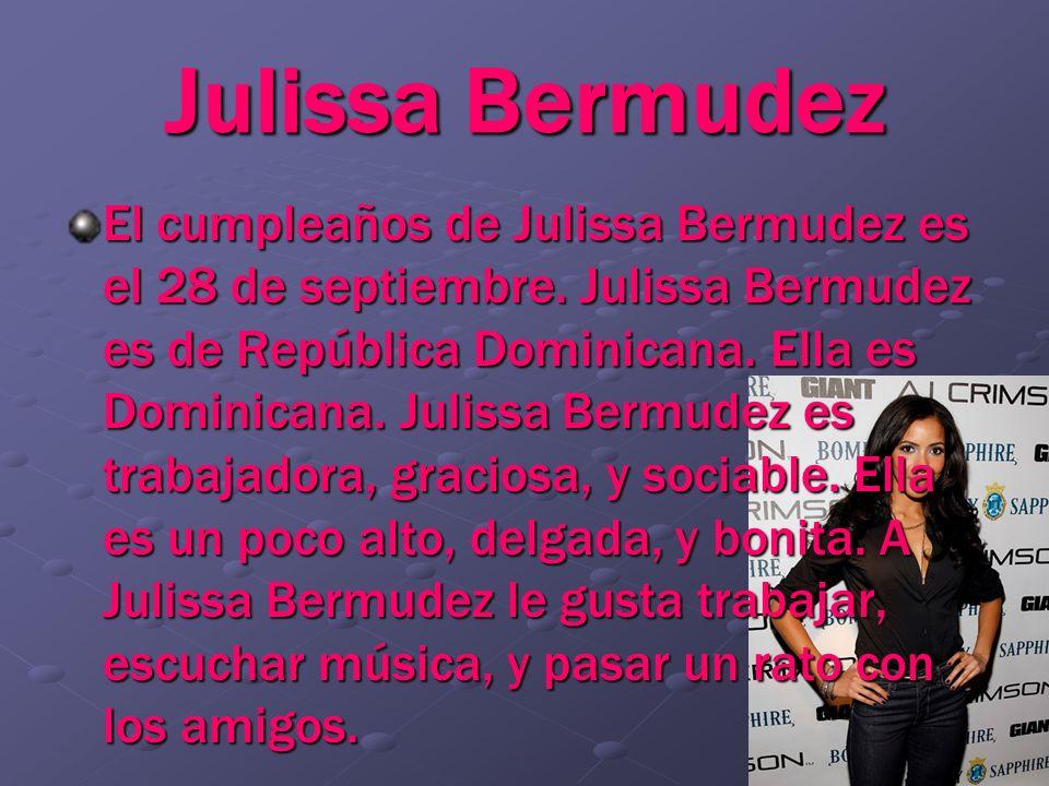 Julissa Bermudez