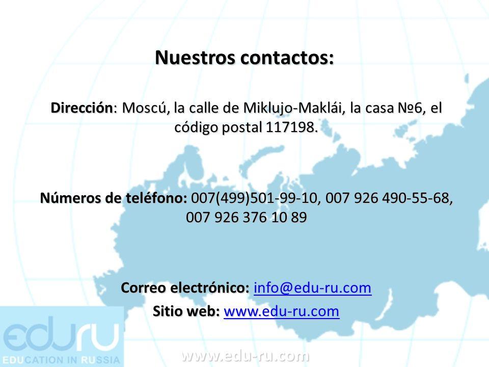 Correo electrónico: info@edu-ru.com