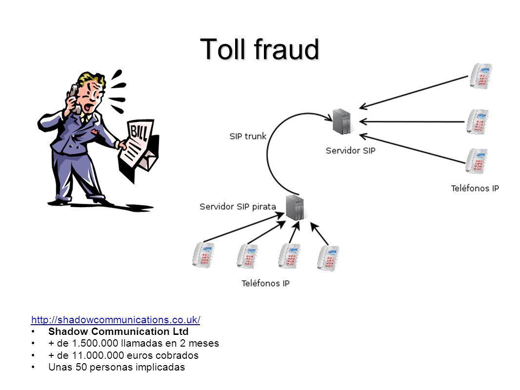 Toll fraud http://shadowcommunications.co.uk/ Shadow Communication Ltd