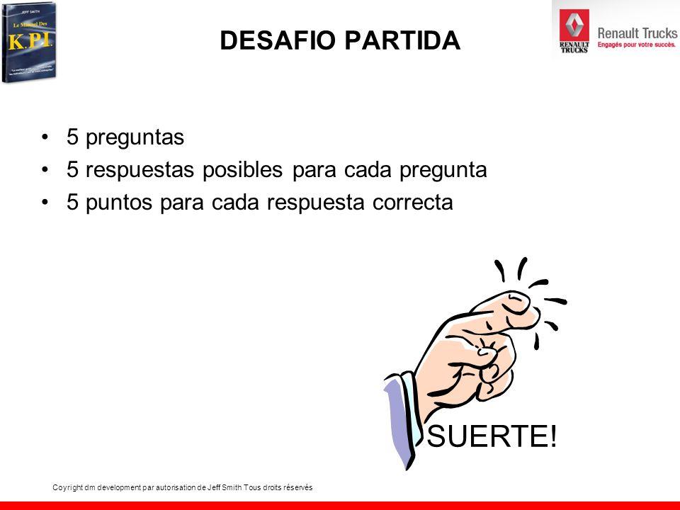 SUERTE! DESAFIO PARTIDA 5 preguntas