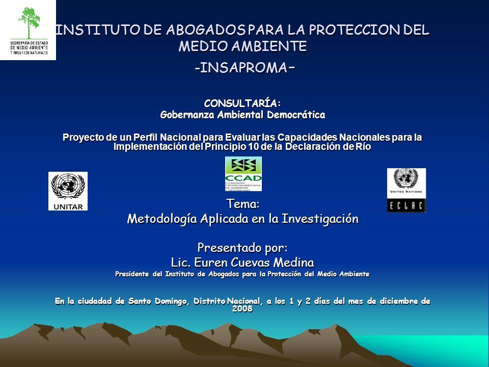 Gobernanza Ambiental Democrática