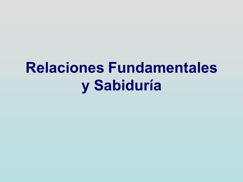 Relaciones Fundamentales y Sabiduría